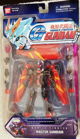 G Gundam Mobile Fighter Master Gundam Action Figure