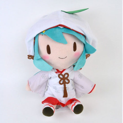 Snow Miku 2013 Sega Prize Vocaloid Plush