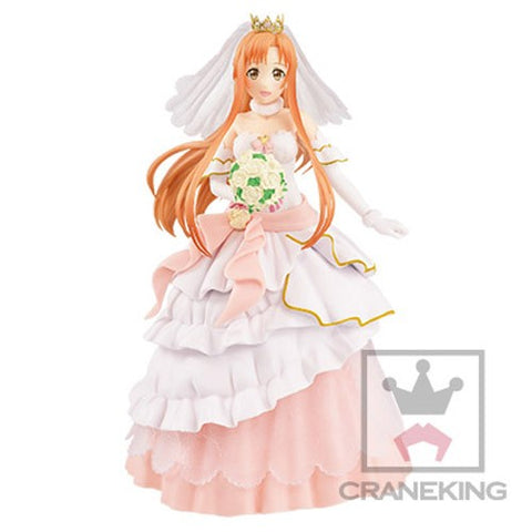 Sword Art Online Asuna Wedding Version EXQ Prize Figure