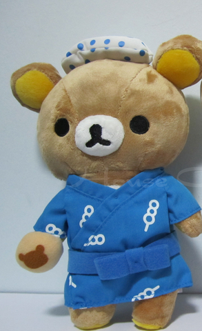 Rilakkuma Hot Spring series 2008 Blue ver.