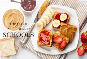 Top 5 Food Allergens in Schools