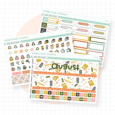 Vertical - August - Back To School