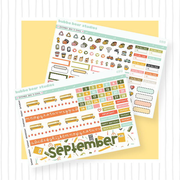 September - Back To School - PP B6