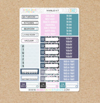 Marbled Kit -- Headers & Labels