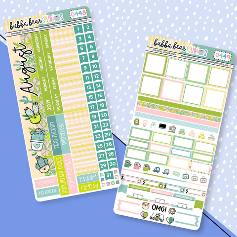 Hobonichi Weeks Monthly Kit - August 2019