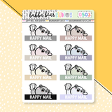 Happy Mail Bear Headers