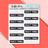 Adulty Things Headers
