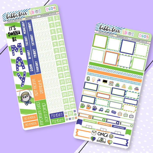 Hobonichi Weeks Monthly Kit - May 2019