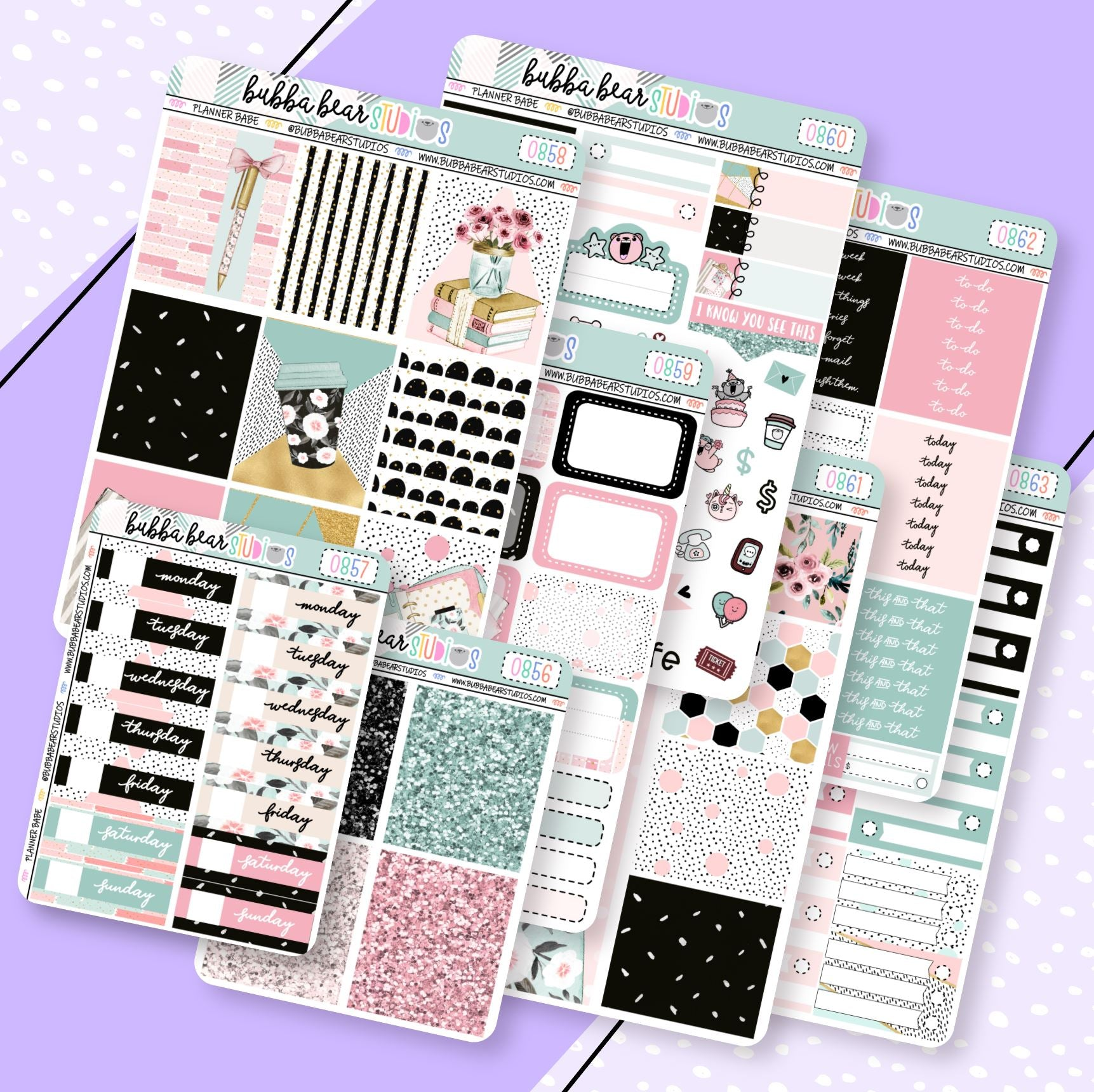 VERTICAL -- Planner Babe Kit