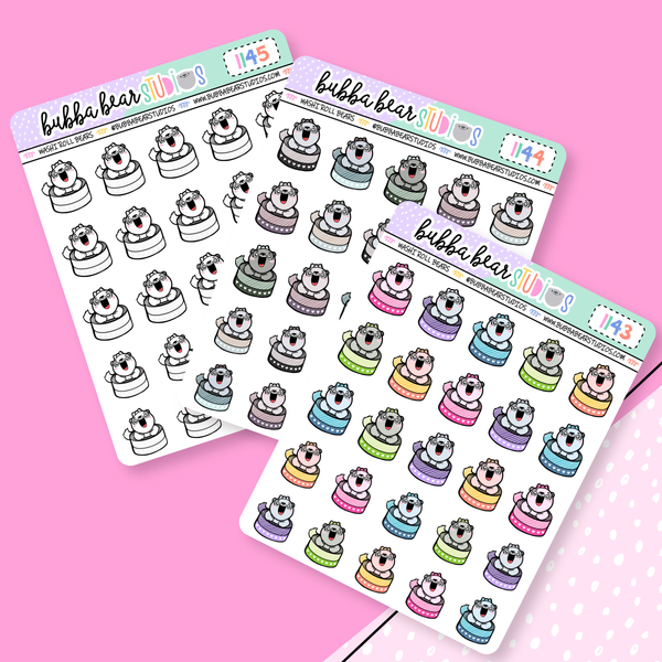 Washi Roll Bears