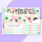 March  - Rainbow Gold