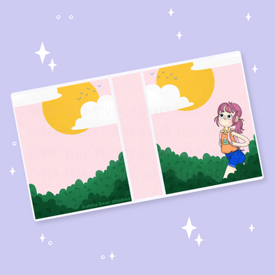 Sticker Album - Morning Hike