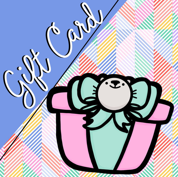 Bubba Bear Studios Gift Card
