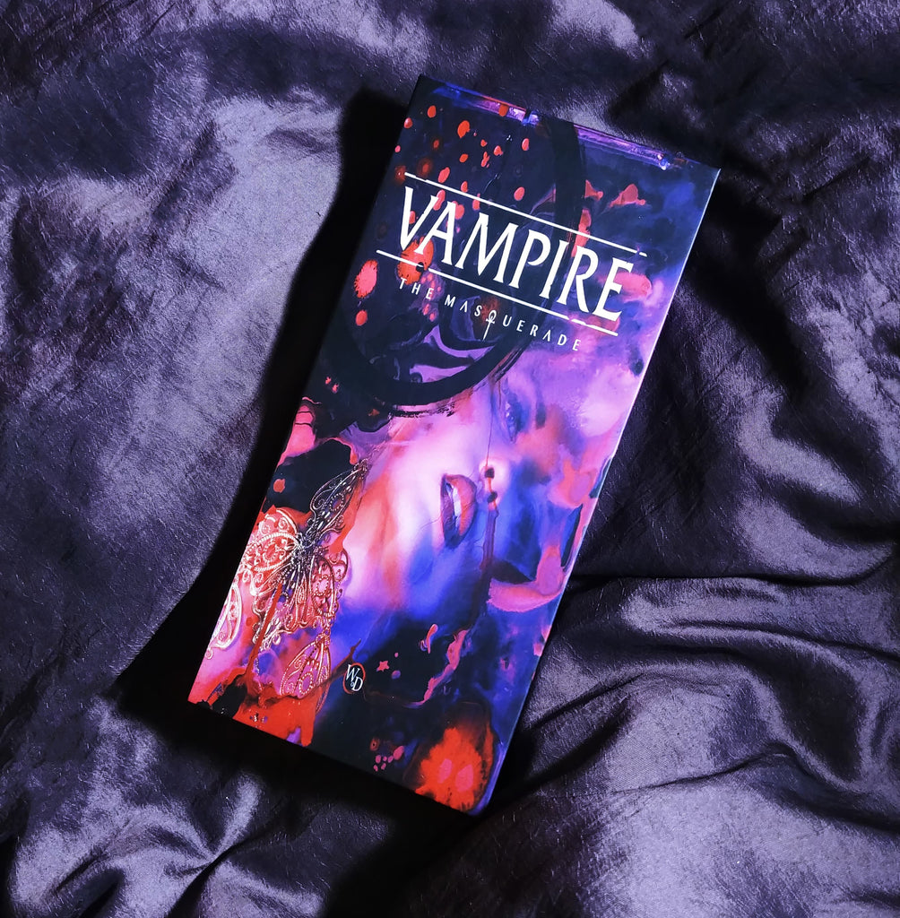 Vampire: the Masquerade (5th Edition) Book Makeup Palette - Belladonna's Cupboard Makeup For Crazy B!tches