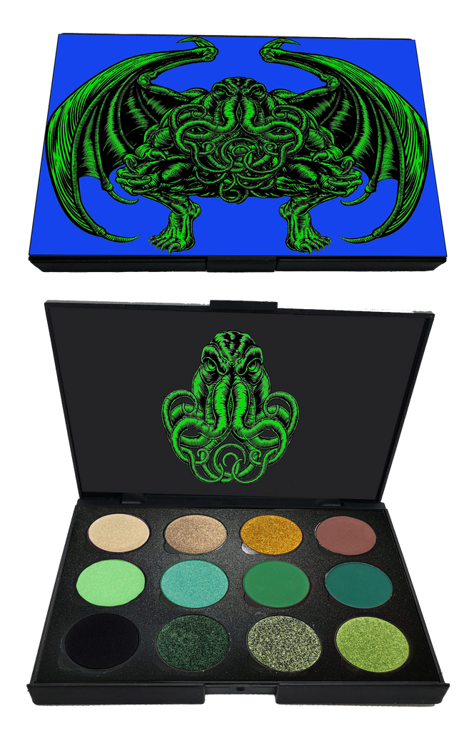 Mini Cthulhu Palette SUPER LIMITED QUANTITIES - Belladonna's Cupboard Makeup For Crazy B!tches