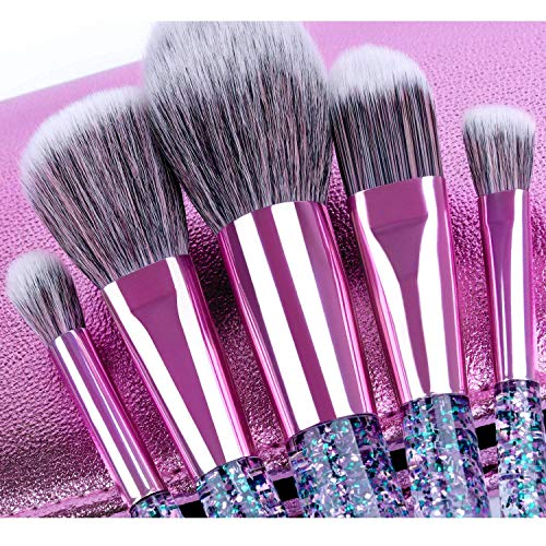 Holiday Glitter Makeup Brushes - Belladonna's Cupboard Makeup For Crazy B!tches