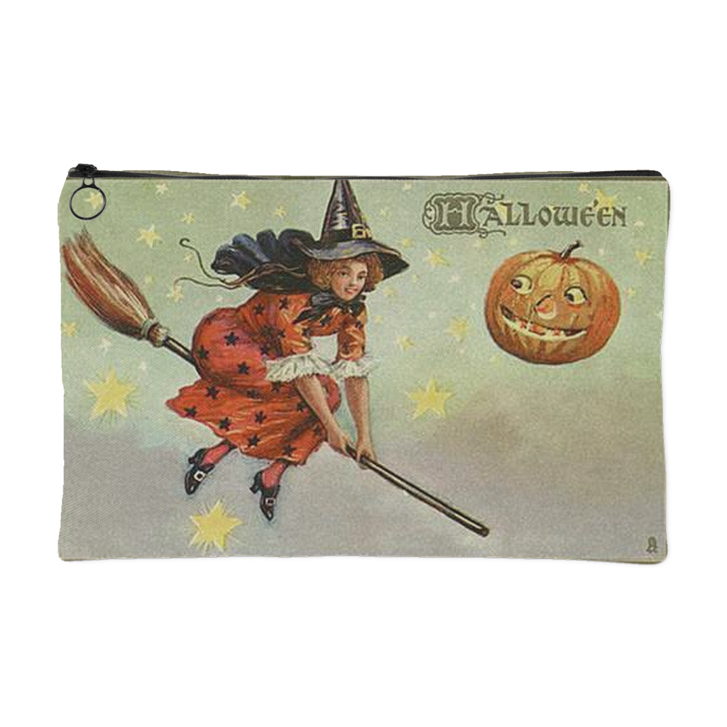 Vintage Halloween Witch Makeup Bag - Belladonna's Cupboard Makeup For Crazy B!tches