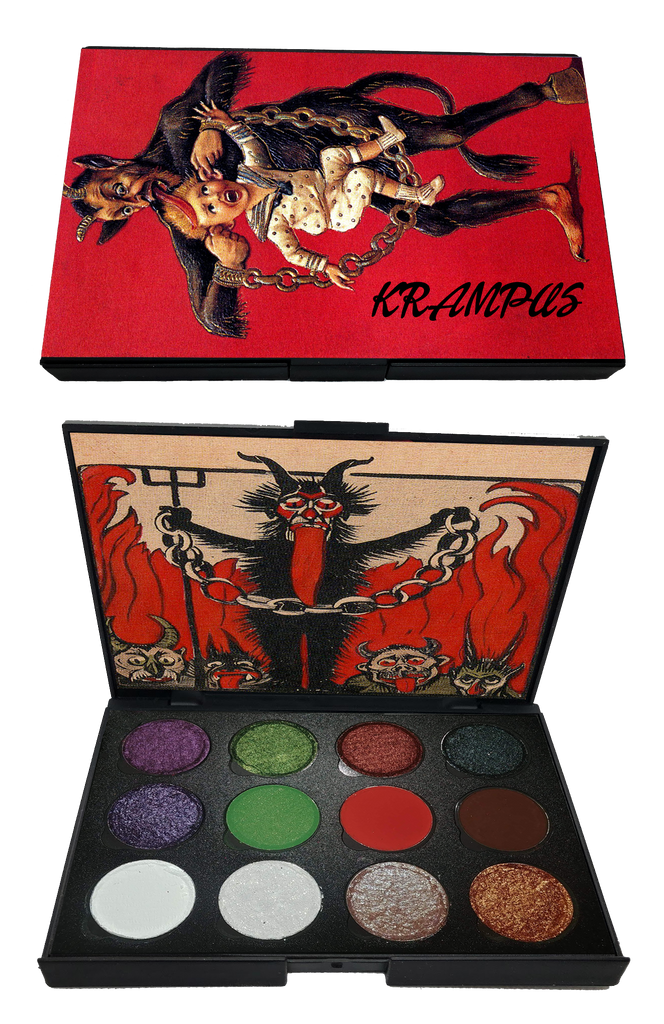 HOLIDAY EXCLUSIVE! Krampus Palette (Super limited Quantities) - Belladonna's Cupboard Makeup For Crazy B!tches