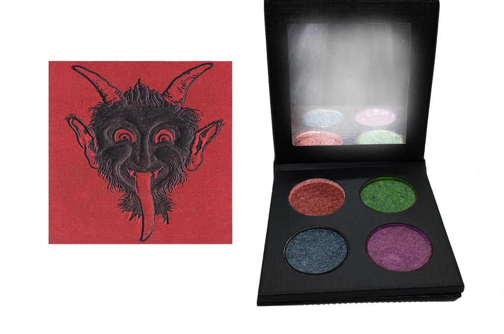 HOLIDAY EXCLUSIVE! Krampus Mini Palette (Super limited Quantities) - Belladonna's Cupboard Makeup For Crazy B!tches