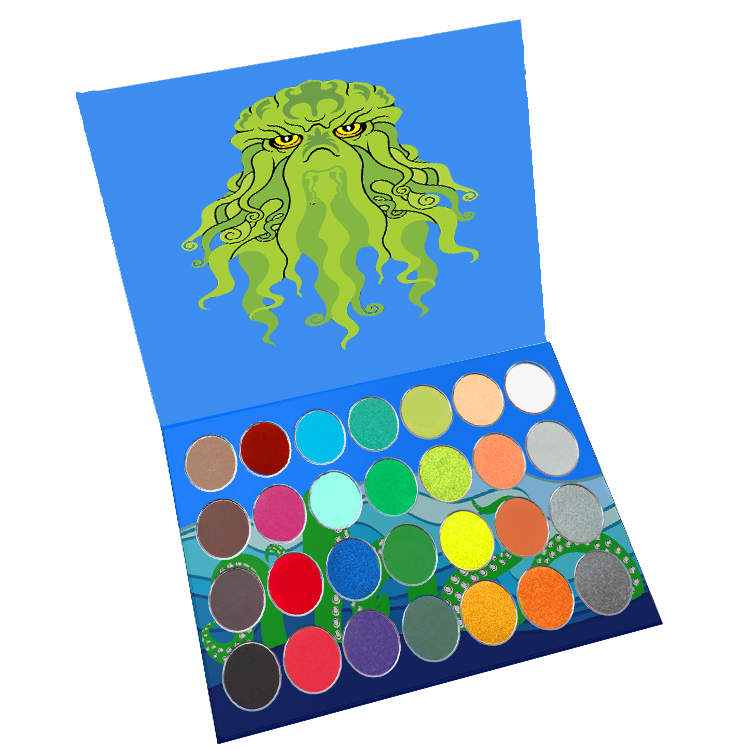 NEW! CTHULHU Water Activated Paint Palette - Belladonna's Cupboard Makeup For Crazy B!tches