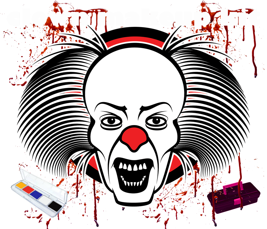 HORROR CLOWN MAKEUP KIT - Belladonna's Cupboard Makeup For Crazy B!tches