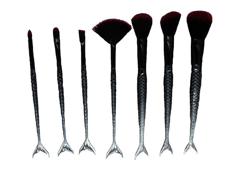 Gothic Siren Makeup Brushes (FREE WHEN YOU SPEND $50!) - Belladonna's Cupboard Makeup For Crazy B!tches