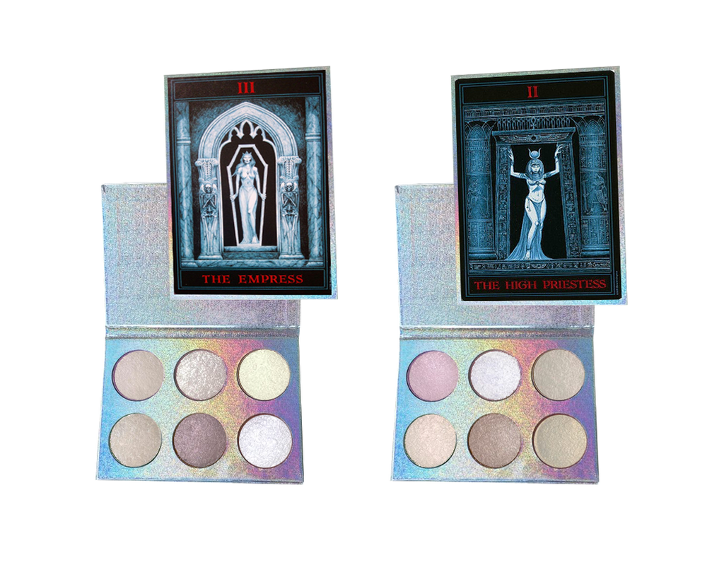 Gothic Tarot Highlighter Palettes - Belladonna's Cupboard Makeup For Crazy B!tches
