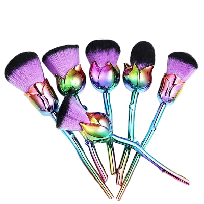 Holographic Rose Brushes