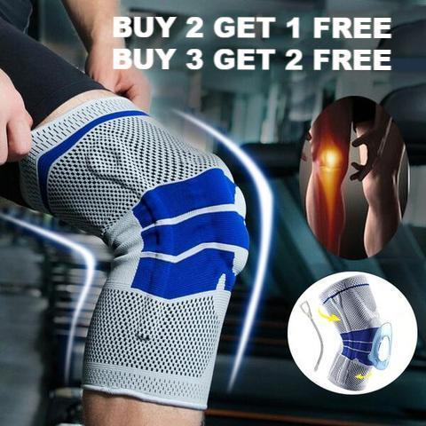 Nylon Silicone Knee Sleeve Buy 2 Get 1 FREE