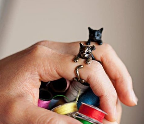 Fashion Cat Ring
