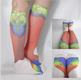 Women Mermaid Socks 3D ver 2