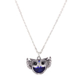 Trendy Owl Necklace Fashion Rhinestone Crystal