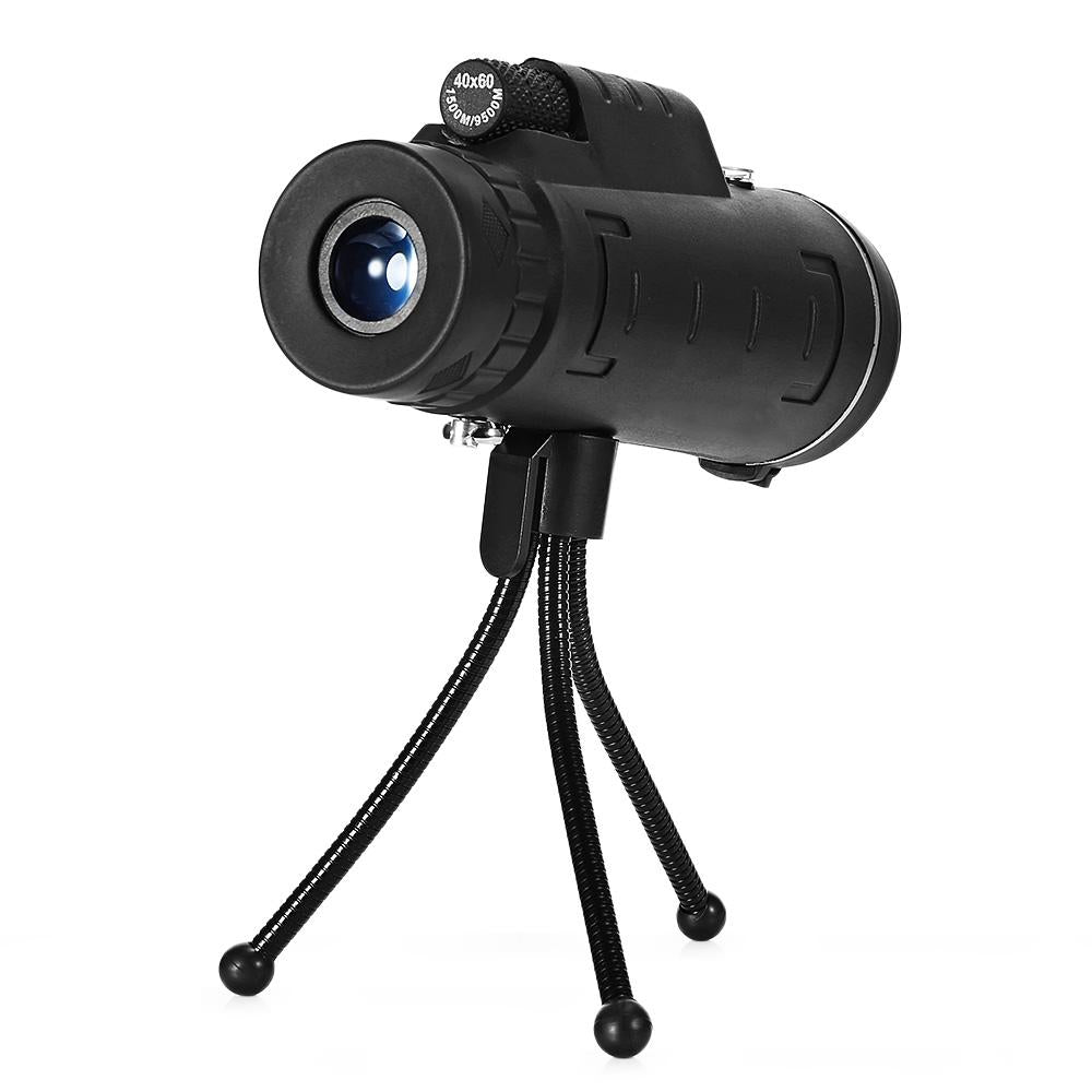 40X60 Monocular Telescope with Night Vision & Phone Mount