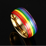 LIMITED EDITION LGBT PRIDE RAINBOW RING