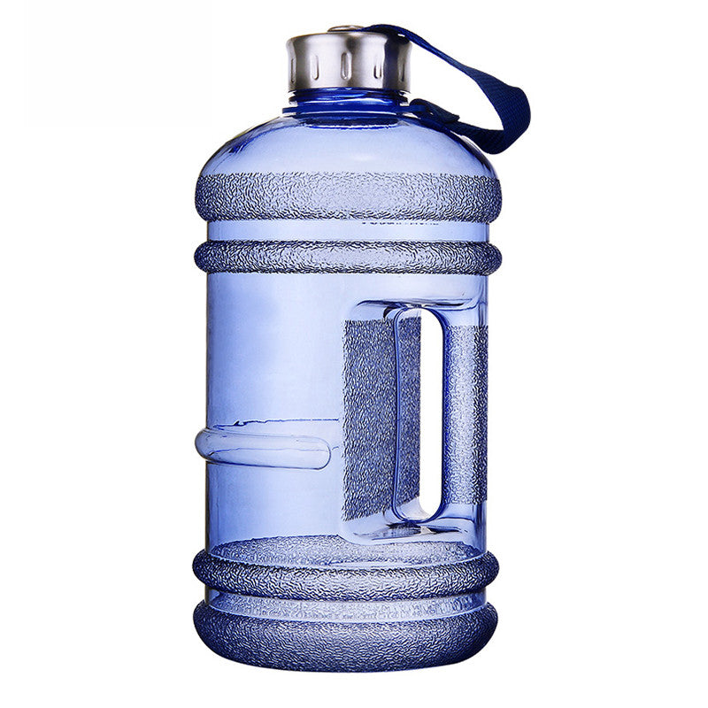 2.2L Large Capacity Water Bottles Outdoor Sports Gym Half Gallon