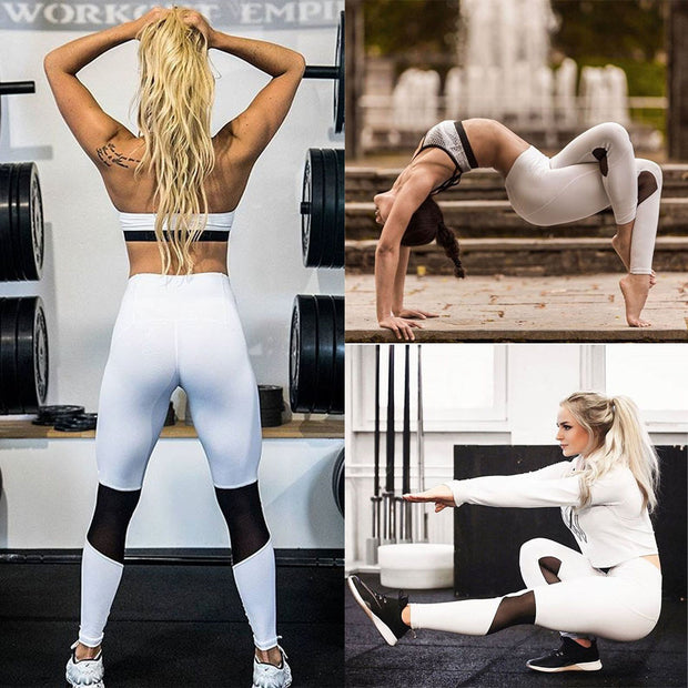 Women Tights Yoga & Running Casual Sport Pants Fitness