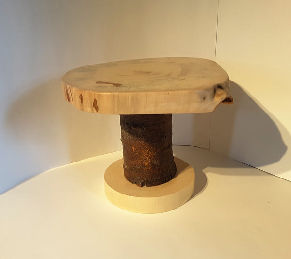 Rustic wood display stand, wedding cake stand, cupcake stand, centerpiece