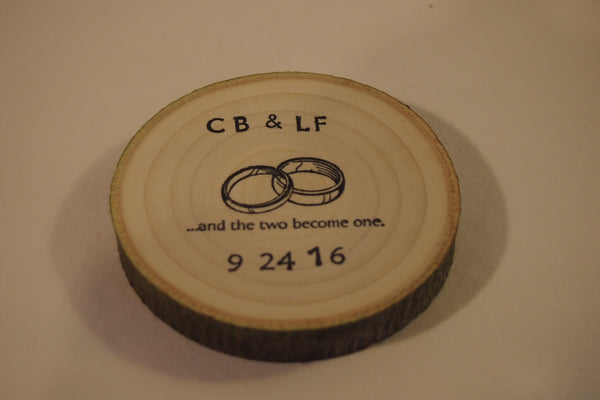 (10) log slice wedding favors, Party favors, woodland wedding guest gift