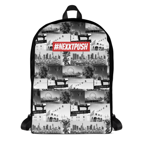 NEXXTPUSH Los Angeles Cut & Sew Backpack