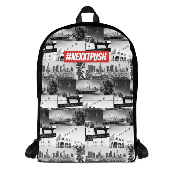 #NEXXTPUSH Los Angeles Cut & Sew Backpack
