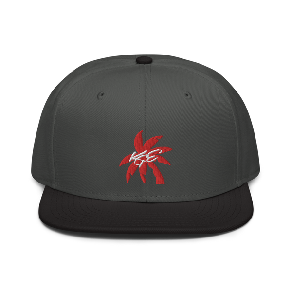 (new) Red Palm Tree Otto Snapback Hat