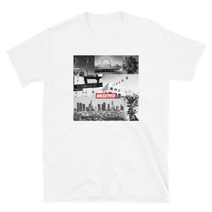 Nexxtpush Los Angles Short-Sleeve Unisex T-Shirt (Printed on Gildan)