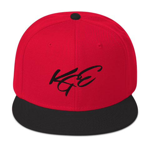 KGE Signature - Red/Black Otto Cap Snapback