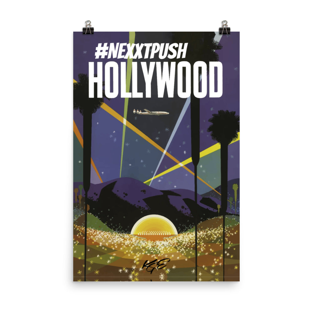 (new) #Nextpush Vintage Hollywood Enhanced Matte Poster