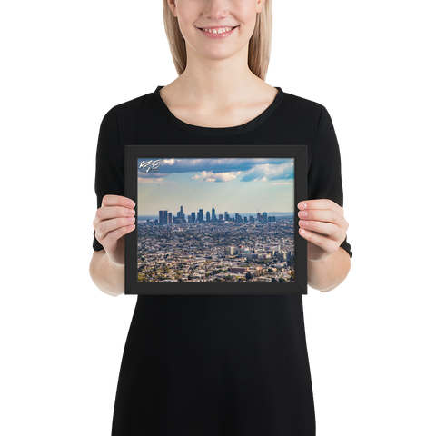 Los Angeles Framed Photo Paper Poster By KGE Photography