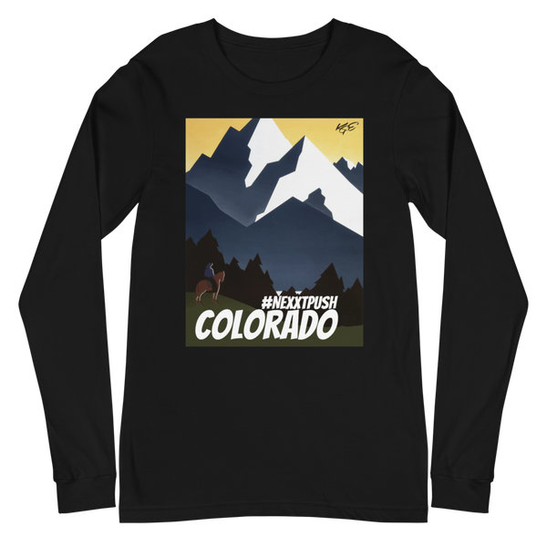 #Nextpush Vintage Colorado - Bella + Canvas Unisex Long Sleeve Tee