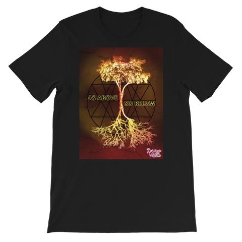 BEYOND OUR WORLD - AS ABOVE SO BELOW - TEE