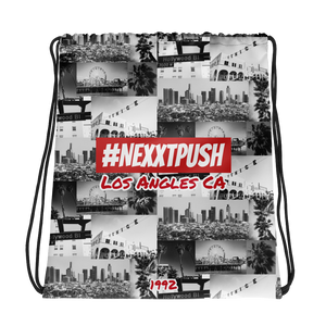 #NEXXTPUSH Los Angeles Drawstring bag