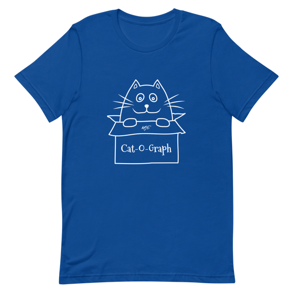 "BELLA + CANVAS - CAT-O-GRAPH - ""Catazon"" TEE"