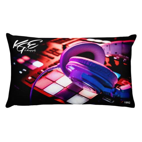 Music & LA KGE Photography Premium Pillow